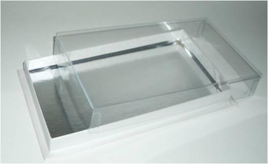 boite rectangulaire avec couvercle transparent 125 g att. Black Bedroom Furniture Sets. Home Design Ideas