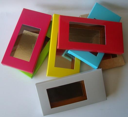 Etui tablette chocolat fenetre 102x88x15 att packaging for Tablette pour fenetre interieur